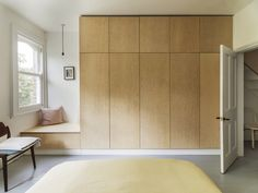 Southern Home Decor York Vault House by Studio Ben Allen.Southern Home Decor York Vault House by Studio Ben Allen Bedroom Wardrobe, Built In Wardrobe, Single Wardrobe, Wardrobe Design, Wardrobe Ideas, Dressing Design, Brick Archway, Victorian Terrace House, New Staircase