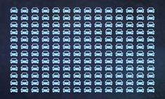 A legtöbb ember nem találja meg a buszt az autók között - Neked menni fog? The Odd Ones Out, Der Bus, Try Your Best, The Thing Is, Lose Weight, Canning, Cars, People, Illusion Drawings