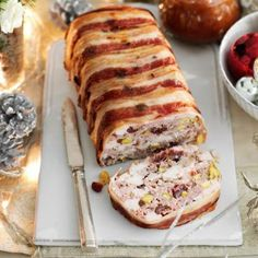 Use diced turkey breast or mince instead of chicken, if you like, to make this Chicken and Pork Terrine more seasonal. Search triple tested recipes from the Good Housekeeping Cookery Team. Chicken Terrine, Pork Recipes, Cooking Recipes, Cooking Pasta, Cooking Pork, Low Carb Diets, Pork Mince, Leaky Gut, Appetisers