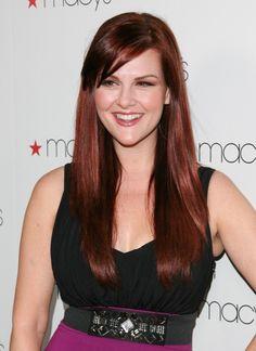 Sara Rues perfect ponytail