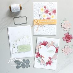 Stampin Up Cards, Artisan, Happy Birthday, Bloom, Paper Crafts, Place Card Holders, Mini, Creative, Projects