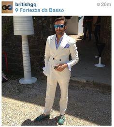 Riccardo Maria Angelo Viganò @ Pitti Uomo  #RMAV #RMAVstyle #RiccardoMariaAngeloViganò #menswear #trend #britishgq #gq #doublebreasted #menswear #pitti #pittiuomo #tailor #sprezzatura #madetomeasure #menstyle #men#style