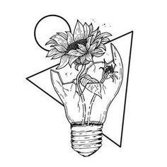 Pin by kylee vigus on // art inspo // Pencil Art Drawings, Art Drawings Sketches, Easy Drawings, Tattoo Drawings, Body Art Tattoos, Flower Drawings, Broken Drawings, Tumblr Sketches, Tatoos