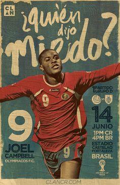 Los carteles de la Sele by CLAN #CRC @joel_campbell12