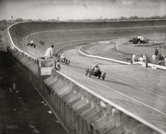 July 11, 1925. Another look at the lineup on Laurel Speedway's board track.