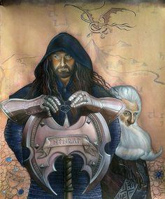 Erebor by kimberly80.deviantart.com on @deviantART Thorin and Balin!!!