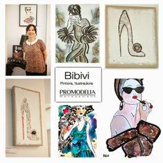 Bibivi: Expo en Promodelia Showroom, hasta el 28 de Junio ...