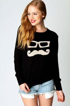 Moustache jumper!!