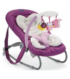 Chicco Mia Bouncing Chair - Mrs Owl