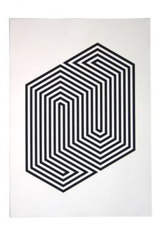 fantastic op art by ? Op Art, Geometry Pattern, Geometry Art, Basic Geometry, Geometric Designs, Geometric Shapes, Motifs Textiles, Poster Design, Illusion Art