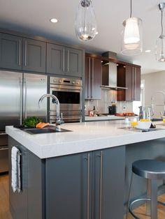 Mid-century-modern Kitchens from Shane Inman on HGTV