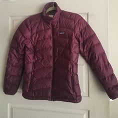 Patagonia puffer jacket Maroon puffer jacket Patagonia Jackets & Coats Puffers