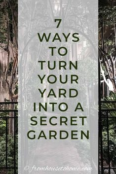 I love these secret garden design ideas. I have always wanted to do something like this in my backyard. Now I have some inspiration for my landscape! room Secret Garden Design Ideas: How To Create Your Own Garden Room - Gardening @ From House To Home Backyard Plan, Backyard Shade, Backyard Retreat, Backyard Landscaping, Shade Garden, Backyard Designs, Landscaping Ideas, Secret Garden Door, Garden Doors