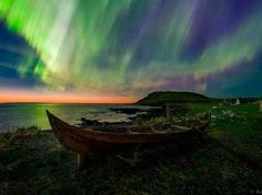"Título: ""Viking Lights""Autor(a): Adam WoodworthCategoria: Composição de foto (Beleza do Céu da Noite... - Adam Woodworth/TWAN"