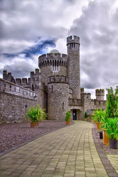"""""""Cork - Blackrock Castle"""" by JoeM88 on Flickr - This is Blackrock Castle.  It was designed by James and G.R. Pain, and it was built between 1828 and 1829.  The building was completed on March 3, 1829 and is situated three miles east of Cork city."""