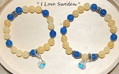 """Armband """" I Love Sweden """""""