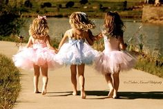 itty bitty ballerinas :)