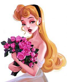 Sleeping Beauty, Disney, Drawings, Briar Rose, Snow White, Disney Art, Princess Aurora