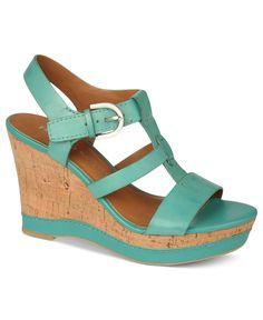 Franco Sarto Shoes, Sonoma Platform Wedge Sandals - Sandals - Shoes - Macys