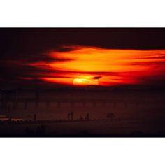 #sunset #ocnj #ocean #oceancity #NJ #newjersey #sun #silhouette #beach #shore #pier #sky #clouds #skyporn #landscape #landscape_lovers #nature #naturelovers #Canon #sigma #ryanpaulmarchese