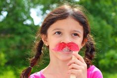Mustaches on a Stick - http://www.pbs.org/parents/crafts-for-kids/mustaches-on-a-stick/