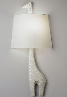 giraffe light sconce / Jonathan Adler