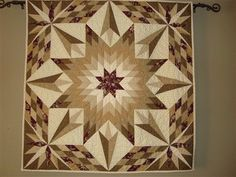lone star quilt pattern | My Favorite Lone Star Pattern. Fun quilt to make - Quilters Club of ...