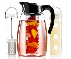 Fruit Infusion Pitchers (Make fruit-flavored water with these pitchers that have a special compartment to hold the fruit. When done infusing, just lift out the compartment to remove the fruit.)