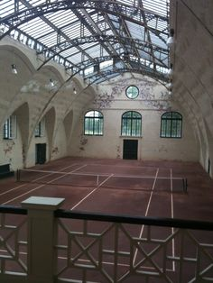 I played a lot of tennis growing up, often on clay courts that I had to help line. Abandoned Buildings, Abandoned Places, Sport Tennis, Tennis Clubs, Tennis Doubles, Indoor Tennis, Holding Court, Tennis Photography, Tennis Online