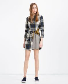 ZARA - WOMAN - PATCHWORK SHIRT DRESS