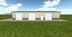 Dream #steelbuilding built using the #MuellerInc web-based 3D #design tool http://ift.tt/1YDsI7g