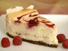 white chocolate cheese cake