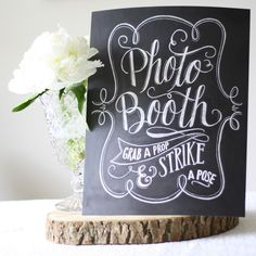 Photo Booth Print – Chalkboard Style by The Wedding of my Dreams, the perfect gift for Explore more unique gifts in our curated marketplace. Blackboard Wedding, Wedding Signage, Wedding Dj, Trendy Wedding, Wedding Photos, Wedding Ideas, Diy Wedding Photo Booth, Dream Wedding, Rustic Wedding