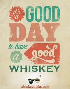 Have a good day. #bourbon #whiskey