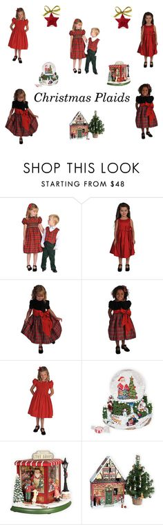 """Christmas Plaids"" by woodensoldier on Polyvore"