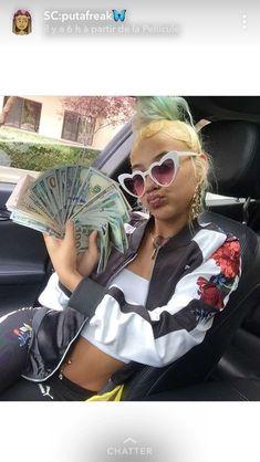 Mo Money, How To Get Money, Soft Ghetto, Thug Girl, Money On My Mind, Gangster Girl, Money Stacks, Bad Gal, Bad Girl Aesthetic