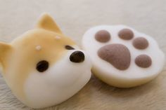 Japanese Food Art, Japanese Candy, Japanese Sweets, Cute Japanese Stuff, Animal Themed Food, Cute Food, Yummy Food, Dessert Original, Japanese Wagashi