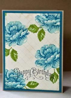 Birthday card by feline - Cards and Paper Crafts at Splitcoaststampers