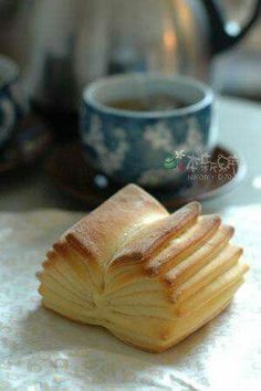 :)  Puff Pastry Book for a Book Lover