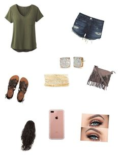 """""""Untitled #84"""" by jonesshelbie on Polyvore featuring 3x1, prAna, Billabong, Cut N' Paste, Charlotte Russe, Kate Spade and Belkin"""
