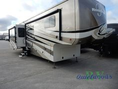 New 2016 Forest River RV RiverStone 38TS Fifth Wheel at Quietwoods RV | Sturgeon Bay, WI | #4414