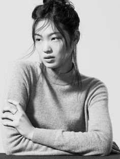 """prettiefaces: Chiharu Okunugi in """"Diversity Rules"""" Photographed by: Hans Neumann for Models.com"""