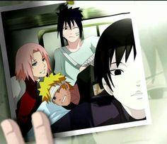 Team 7 in recovery Sasuke Sakura #Naruto & Sai
