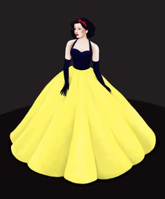 Snow White by =Katifisen on deviantART