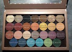 Makeup Geek Cosmetics eyeshadow singles in z palette