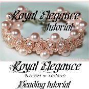 Beading pattern Royal Elegance - via @Craftsy