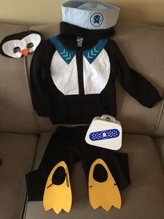 Peso Octonauts toddler costume for Halloween trick-or-treating :)