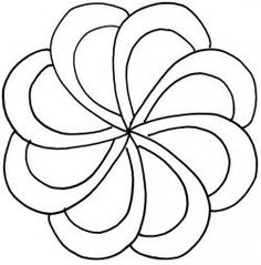 Large Swirl Stencils  