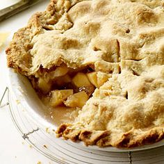 Classic Desserts from Food & Wine  | Double-Crust Apple Pie | MyRecipes.com