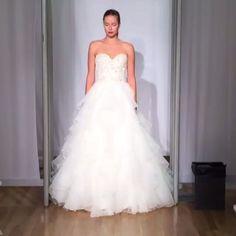 "386 aprecieri, 30 comentarii - Morilee | Madeline Gardner (@morileeofficial) pe Instagram: ""Ruffles and details ❤️ Mori Lee by Madeline Gardner #spring2016 #bridal #bridalgown #NYBFW"""